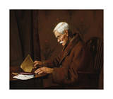 The Buff Envelope Premium Giclee Print by Charles Spencelayh