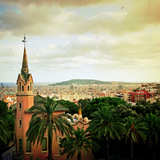 Museum and Barcelona Photographic Print by Fly away with your imagination