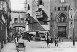Barcelona Street Scene Photographic Print by Hulton Archive