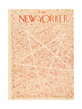 The New Yorker Cover - December 25, 1943 Premium Giclee Print by Ilonka Karasz