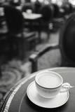 Un Cafe au Lait Giclee Print by Irene Suchocki