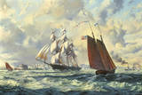 The 'Golden West' Giclee Print by Roy Cross