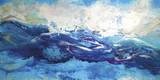 Norfolk Shore Giclée-Druck von Caroline Ashwood