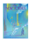 The New Yorker Cover - January 26, 1976 Regular Giclee Print by Eugène Mihaesco