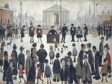 The Prayer Meeting Giclée-Druck von Laurence Stephen Lowry