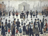 The Prayer Meeting Giclee Print by Laurence Stephen Lowry