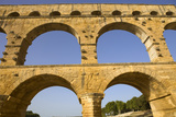 Pont Du Gard, Roman Aqueduct in Southern France near Nimes Photographic Print by  ruivalesousa