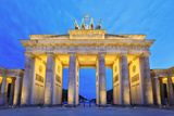 Brandenburg Gate Photographic Print by noppasin wongchum