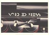 Nord-Express Sammlerdrucke von Adolphe Mouron Cassandre