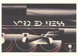 Adolphe Mouron Cassandre - Nord Express - Koleksiyonluk Baskılar