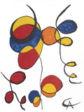 Spirales Print by Alexander Calder