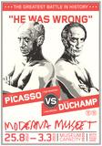 Picasso vs. Duchamp Prints