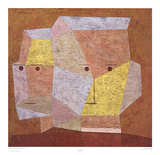 Two Heads Pôsters por Paul Klee
