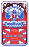 The Who - Joshua Light Show Affischer av David Byrd