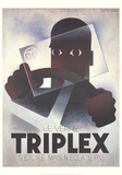 Triplex Samlertryk af Adolphe Mouron Cassandre