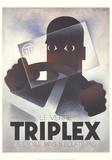 Triplex Sammlerdrucke von Adolphe Mouron Cassandre