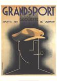 Grand Sport Sammlerdrucke von Adolphe Mouron Cassandre