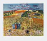 Le Champe de Ble Prints by Raoul Dufy
