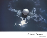 Ball on Water Print by Gabriel Orozco