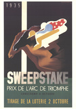 Sweepstake Collectable Print by Adolphe Mouron Cassandre