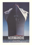 Normandie Collectable Print by Adolphe Mouron Cassandre