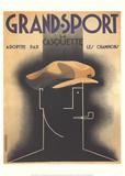 Grand-Sport Sammlerdrucke von Adolphe Mouron Cassandre