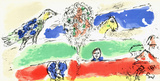 The Green River Collectable Print by Marc Chagall