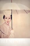 Paris (1950) Umbrella Samlertryk af Erwin Blumenfeld