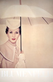 Paris (1950) Umbrella Collectable Print by Erwin Blumenfeld