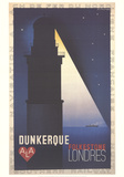 Dunkerke-Londres Reproductions de collection par Adolphe Mouron Cassandre
