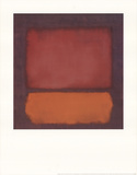 Untitled (1962) Posters by Mark Rothko