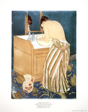 Woman Bathing Collectable Print by Mary Cassatt
