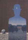 L'Heureux Donateur Poster af Rene Magritte