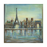 Paris Highlights Photographic Print by Marilyn Dunlap