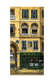 Cafan Gogh Paris Photographic Print by Marilyn Dunlap
