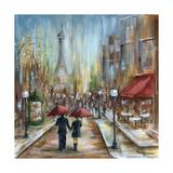 Paris Lovers III Posters by Marilyn Dunlap