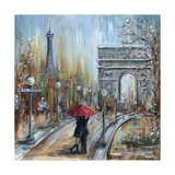 Paris Lovers II Photographic Print by Marilyn Dunlap