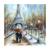 Paris Lovers I Photographic Print by Marilyn Dunlap