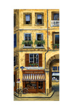 Parisian Bistro and Butcher Shop Photographic Print by Marilyn Dunlap
