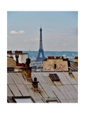 Rooftops of Paris Photographic Print by Marilyn Dunlap
