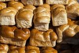 Fresh Baked Bread in Tel Aviv's Carmel Market Photographic Print by Richard T. Nowitz