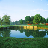 Pond in a Golf Course, Westwood Country Club, Vienna, Fairfax County, Virginia, USA Photographic Print by Green Light Collection