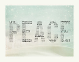 PEACE Prints by Rebecca Peragine