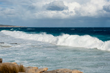 Waves Crashing on the Beach, Southern Ocean Lodge, Kangaroo Island, South Australia, Australia Photographic Print by Green Light Collection