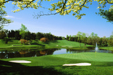 Golf Course, Congressional Country Club, Potomac, Montgomery County, Maryland, USA Photographie par Green Light Collection