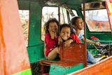 Childhood and Hapiness in Philippines Photographic Print by Antoine Besson