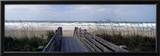 Boardwalk on the Beach, Nokomis, Sarasota County, Florida, USA Framed Photographic Print by  Panoramic Images