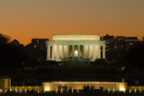 Lincoln Memorial at Night Photographic Print by Richard T. Nowitz