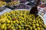 Variety of Olives in Carmel Market Photographic Print by Richard T. Nowitz