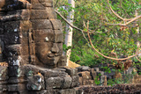 Temple of Banteay Chmar (Cambodia) Photographic Print by Aymeric Bellamy Brown
